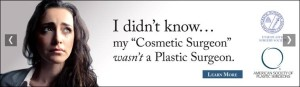 Today, the Utah Plastic Surgery Society had a significant win against cosmetic surgeons in the state. These plastic surgeons were sued by cosmetic surgeons for a campaign aimed at educating the public about the difference.